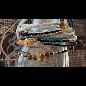 Jewelry - Handmade Mineral Bracelets, no piece the same